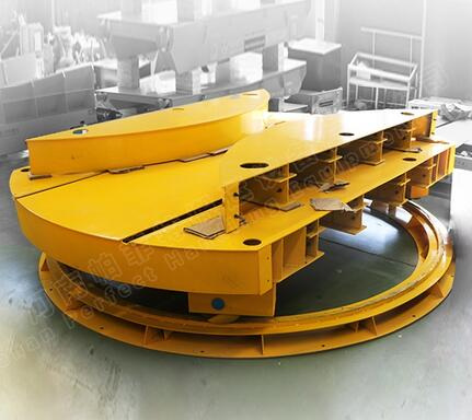 Rail Switch Wheelhouse Railway Turnplate in Manufacturing Shop