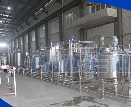 Soy Bean Milk Production Line Diary Production Line