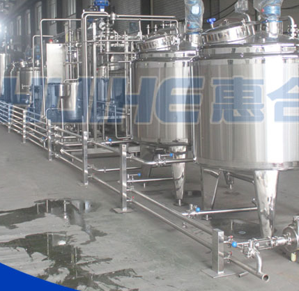 Turnkey Production Line for Soy Milk