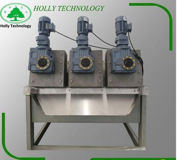 dewatering screw press liquid-solid separator