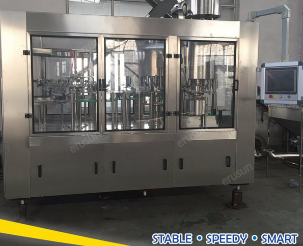 High Capacity Drinking Water Filling Line