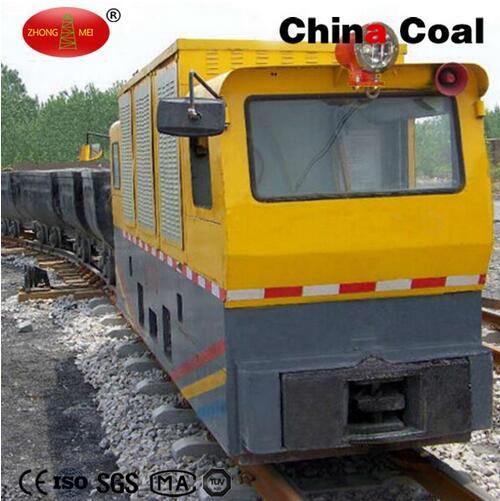 12t AC Frequency Underground Energy Saving Mining Locomotive