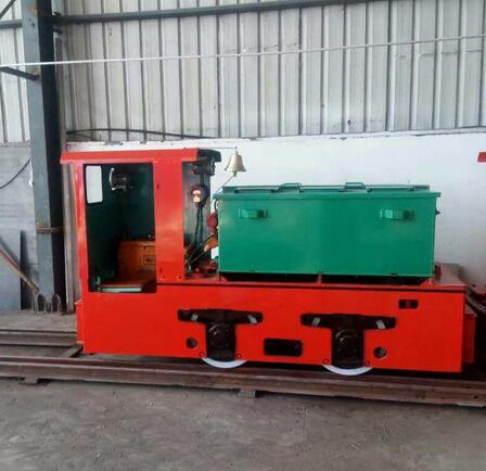 5 Ton Explosion-Proof Stainless Steel Electric Locomotive for Coal Mine