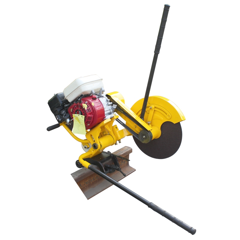 YHD-C3 AC380V aluminum alloy two-way swing type Rail cutter