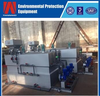 Dry powder dosing equipment