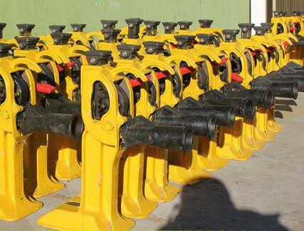SCQ-200 Series Carbon Steel rail good price manual screw jack
