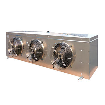 Stainless steel case air cooled evaporator for refrigeration cold room