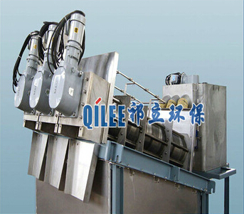 liquid solid separator automatic SUS304 screw