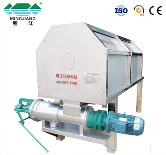 solid liquid separator pig manure dewatering machine with good quality