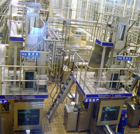 High-Quality Uht Milk Production Line
