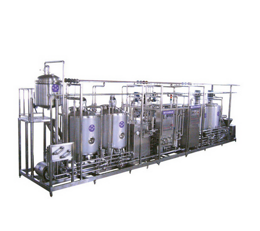 Complete Dairy Pasteurized Milk Production Line