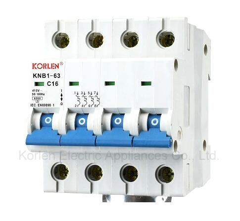 KNB1-63-2007 DZ47-63 Series High Quality Mini Circuit Breaker