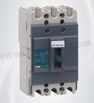 Ezc D 100 Series MCCB Low Voltage Moulded Case Circuit Breaker