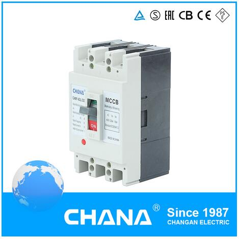 IEC60947-2 Series MCCB Approved Moulded Case Circuit Breaker