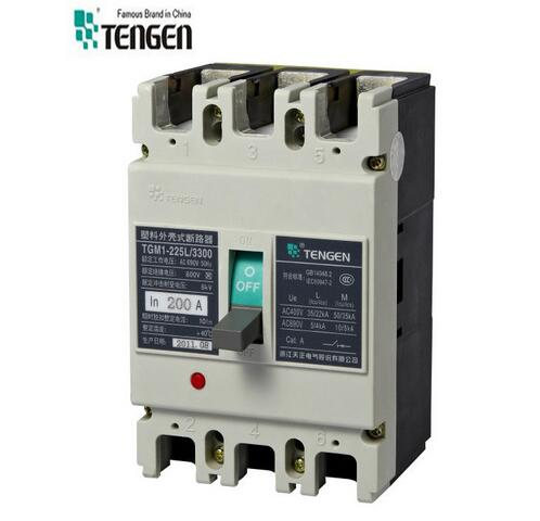 Tgm1-225 Series MCCB Manufacturer 690V 200AMP Moulded Case Circuit Breaker