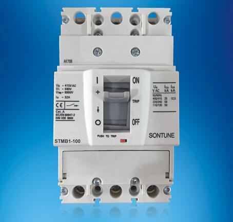Sontune Stmb1-100 Series Manual Type Moulded Case Circuit Breaker