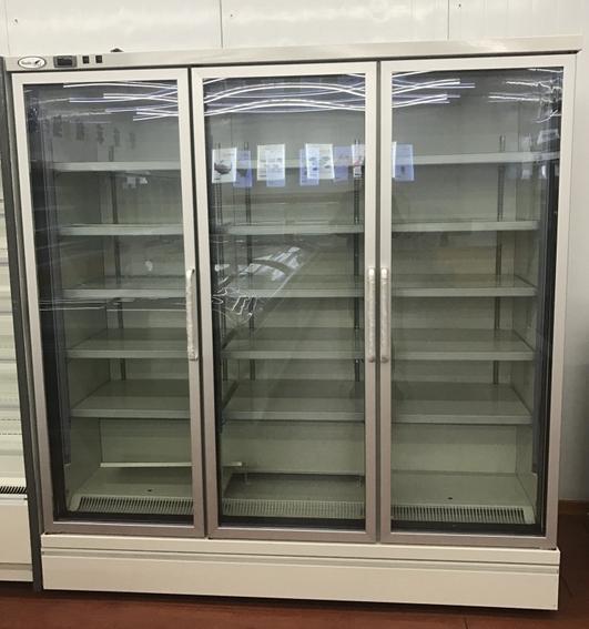 Open Face Display Fridge and 3 Door Display Freezers