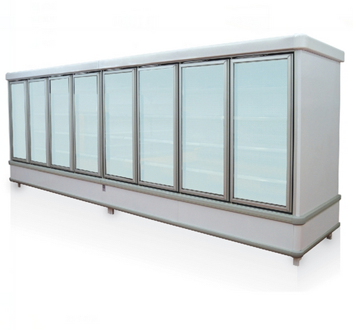 Commercial Upright Multideck Freezer with Glass Door
