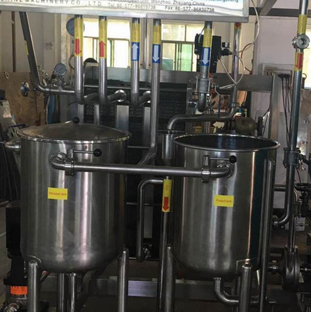 2500L/H Plate Milk Pasteurizer with Automatic Control