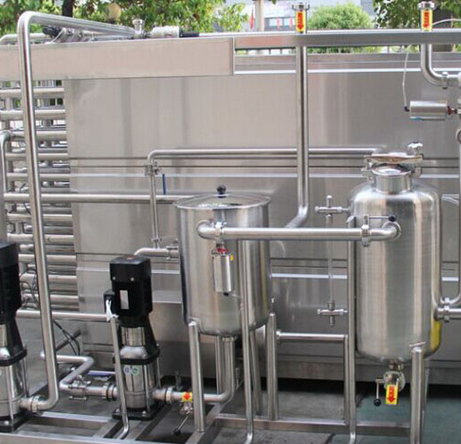 High Efficiency Tubular Milk Pasteurization Machine with Factory Price