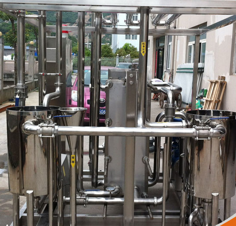 Food Sanitary Stainless Steel Uht Pasteurization Machine