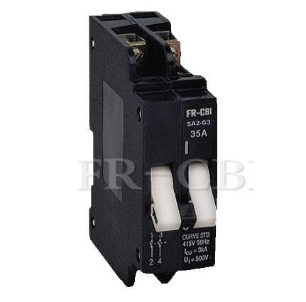 SA Series Low Voltage 2p CBI Type Africa Mini Circuit Breaker