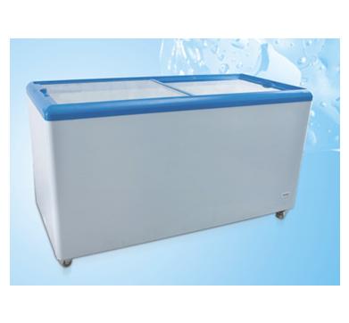 Horizontal Glass Door Refrigeration/Freezing Change-Over Freezer