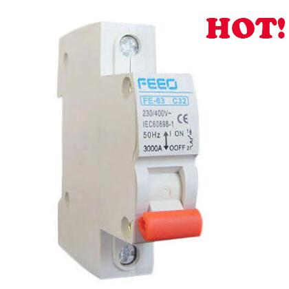 FE-63 Series 250-1000V 1p 16A Low Voltage Mini Circuit Breaker