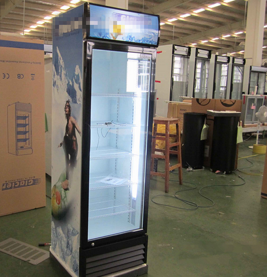 Ce Certification and Display Cooler Type Refrigerator for Sale