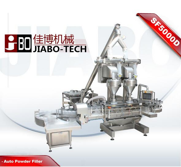 SF5000D Series Automatic Automatic Auger Powder Filling Line