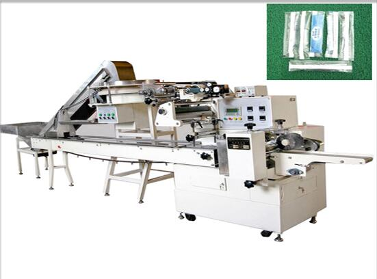 COMEQ Electric Syringe Auto-Pillow Automatic Wrapping Machine