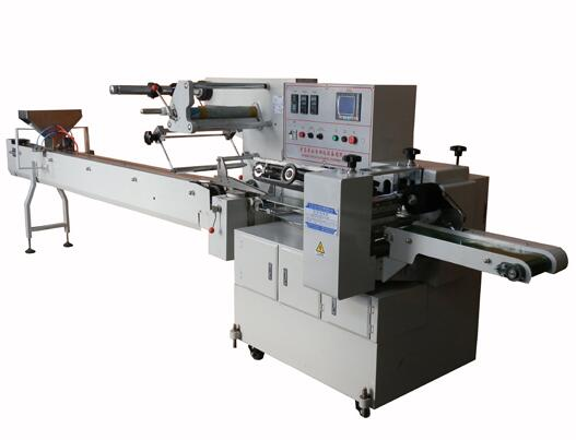 450/120 S Series Horizontal Automatic Burger Bag Flow wrapping machine