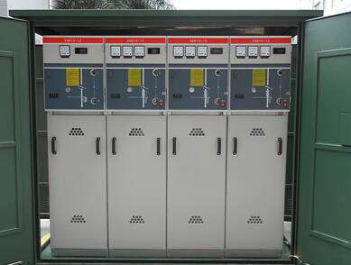 SafeClad-624e non-extensible sf6 gas insulated LV switchgear