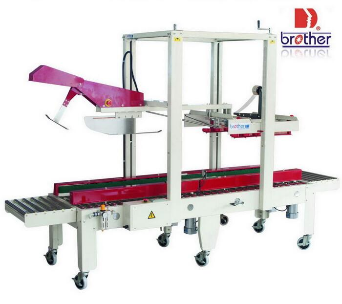 Fx-At5050L Automatic Flaps Folding Carton Sealer with Extended Converyor