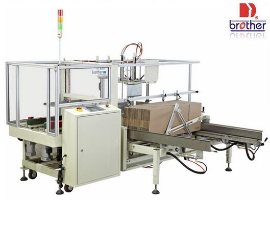 Ces4035A Series Brother Box Opening and Bottom Sealing Machine