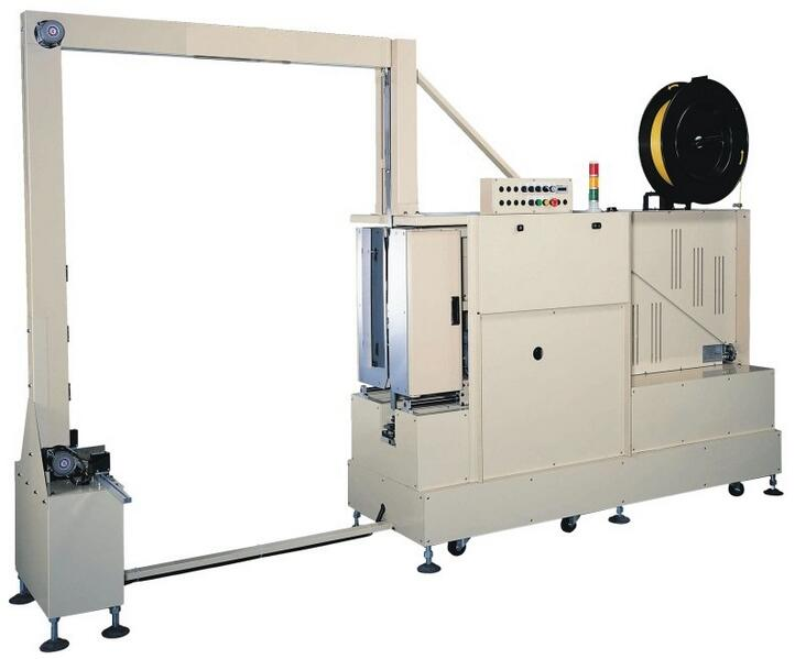 MH-105B Automatic Pallet Strapping Machine with PLC Control System