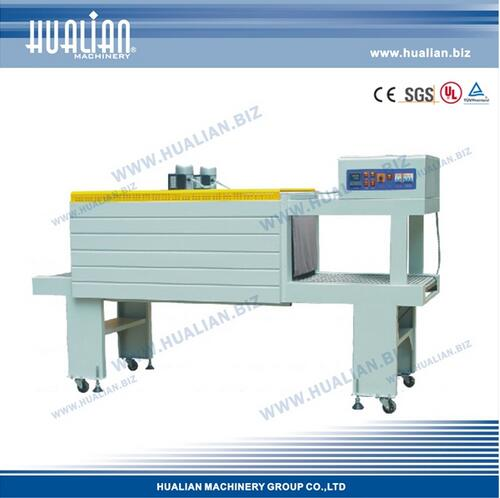BS-5540M Heating Tube Semi-Automatic Carton Shrink Machine