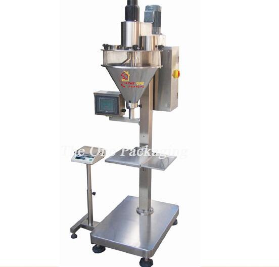 TOSPF5000-1 Semi-Automatic Single-Head Powder Filling Machine