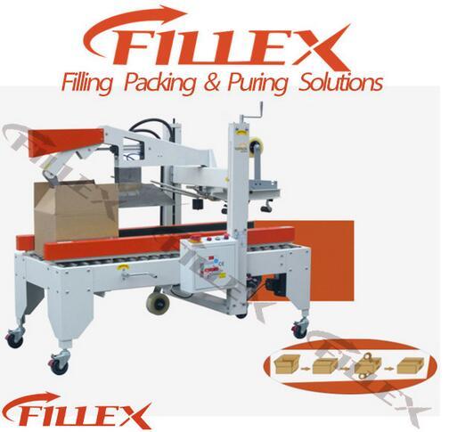 Easy Operation Carton Sealer Flexible Container Sealing Machine