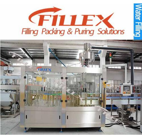 220V Automatic Bottle Water Rinsing Filling Capping Machine