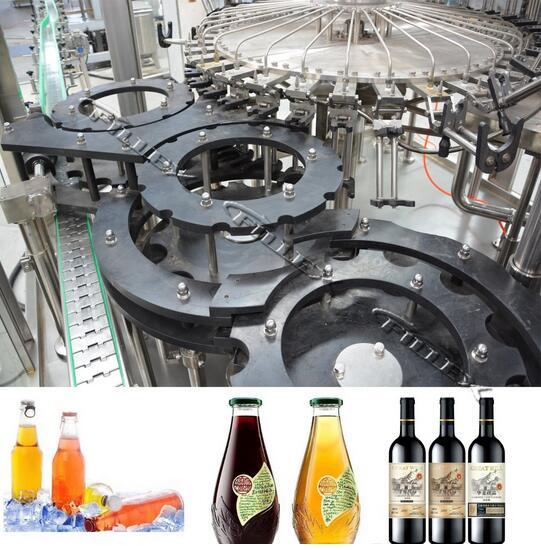 Single-Room Feeding Multi-Head Liquid Filling Glass Bottle Machine