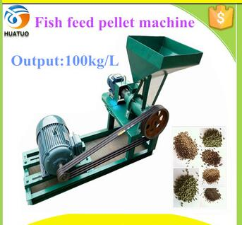 automatic poultry floatig fish feed meal machine crush