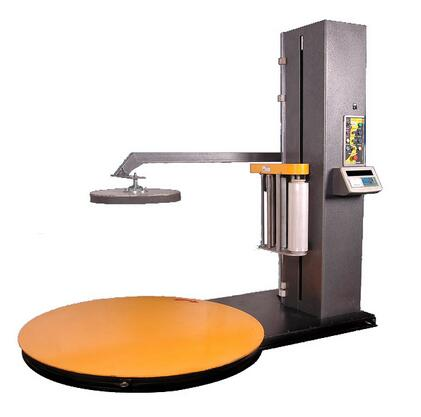 MP-165CS Automatic Top-Plate Pre-Stretch Pallet Wrapping Machine
