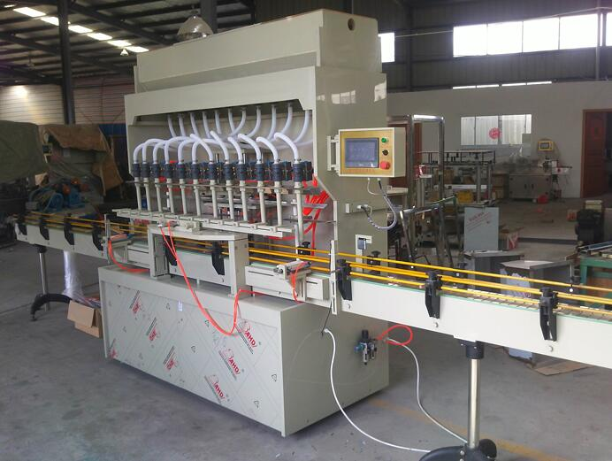 CRF-4A/8A/12A Series Crrosion Resistant Liquid Filling Machine