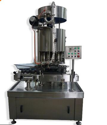 BW 2.5kw Automatic Screw Cap Bottle Rotary Capping Machine
