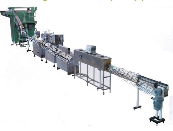 ASDW-473 Single-Room Feeding Rinsing Filling Capping Machine