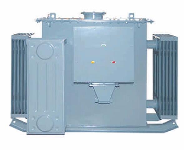 Green environmental protection electric arc furnace transformer