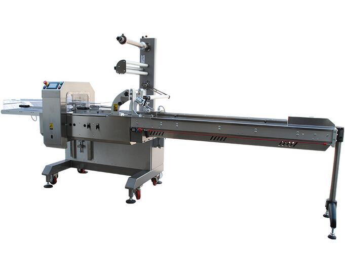 ISO9001 China Three Servo Horizontal Flow Wrapping Machine