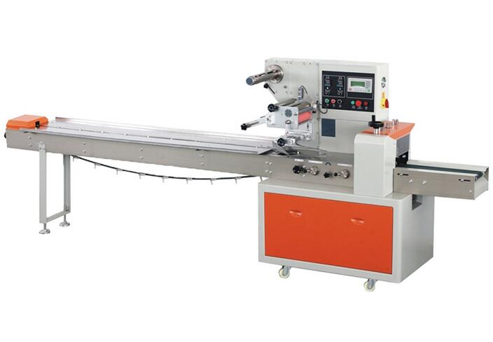 Shenzhen China Dual-Inverter Horizontal Flow Wrapping Machine