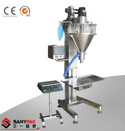 Dry Spices Coconut Pepper Powder Semi-Automatic Packing Machine